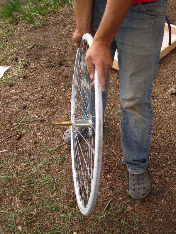 wheel protrusion
