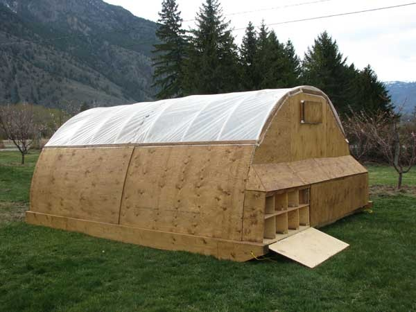 Blackbird Organics Mobile Chicken Coop