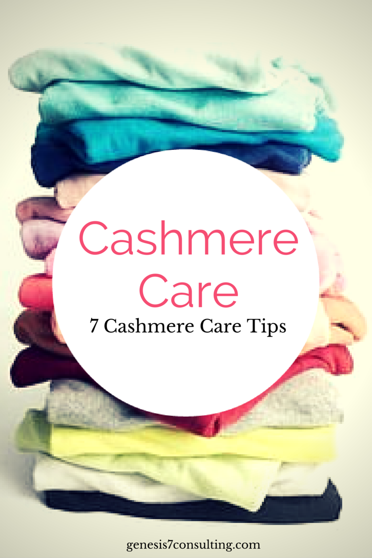 Cashmere Care - Pin