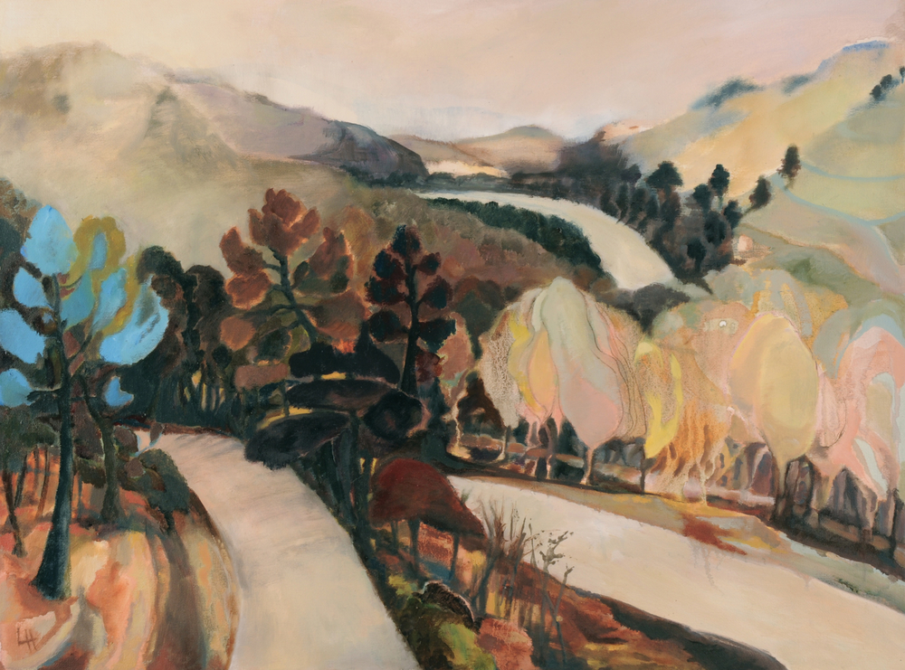 Winter Mountains, oil on canvas [61x46cm] 2013 Laura Hudson.jpg