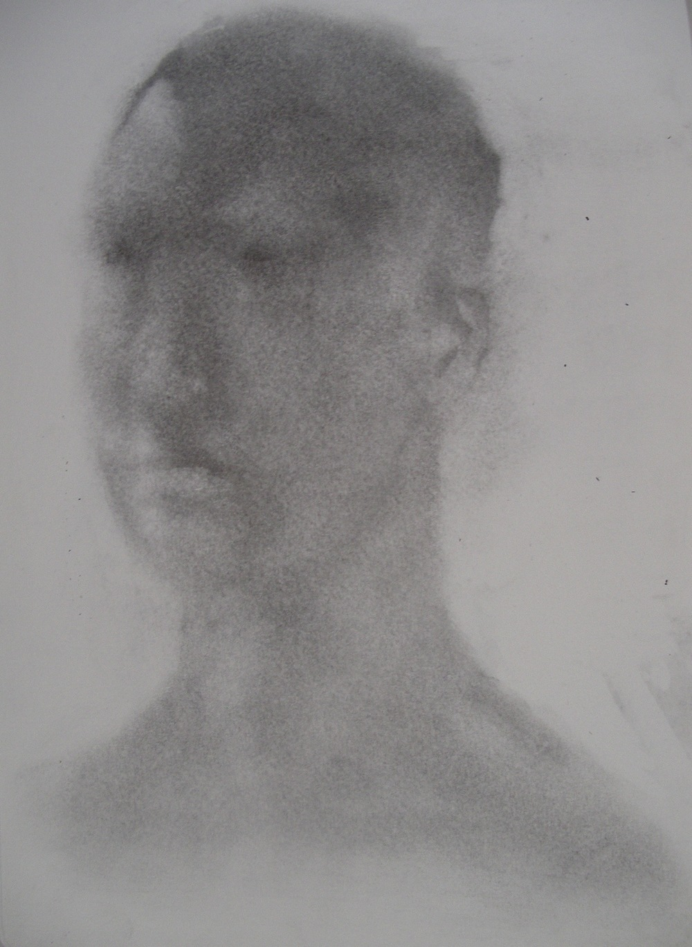 Portrait I, carbon powder on paper [21x29cm] 2013 .jpg