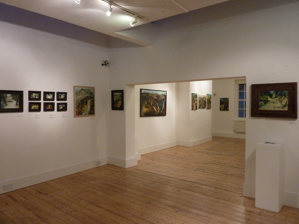 Laura Hudson Transient Landscapes Exhibition January 2013, The Plough Arts Centre