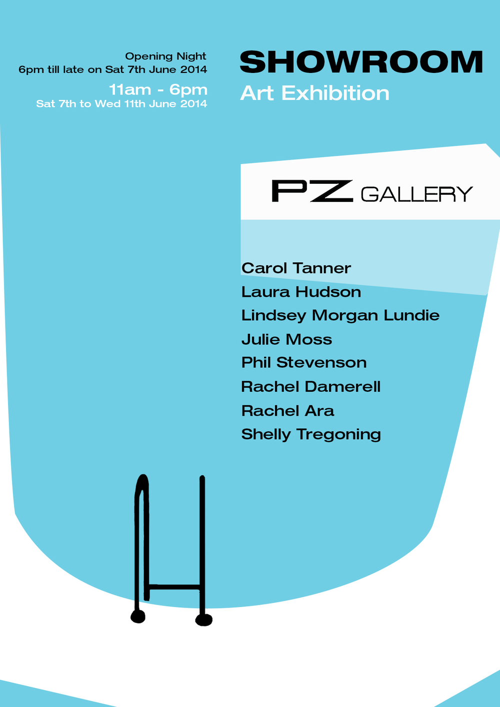 Showroom at PZ Gallery