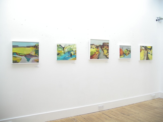 Exhibition Laura Hudson Passing Through June 2014 - 1