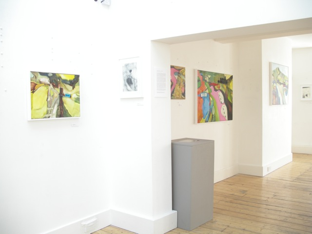 Exhibition Laura Hudson Passing Through June 2014 - 2