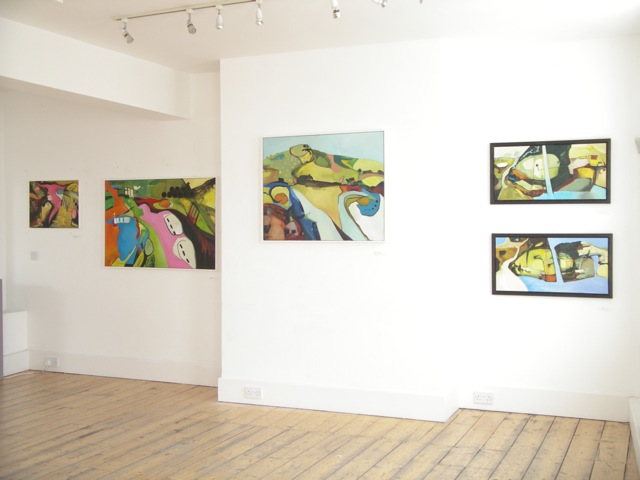 Exhibition Laura Hudson Passing Through June 2014 - 3