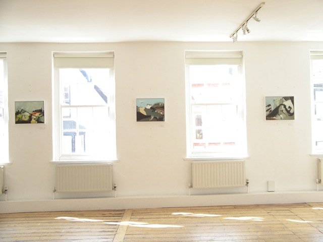 Exhibition Laura Hudson Passing Through June 2014 - 5