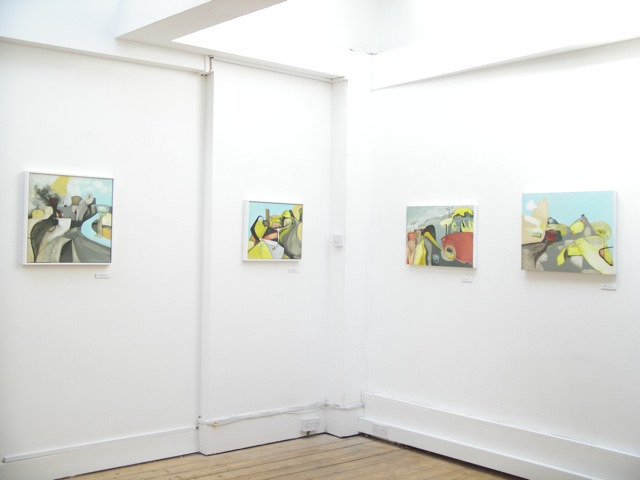 Exhibition Laura Hudson Passing Through June 2014 - 7