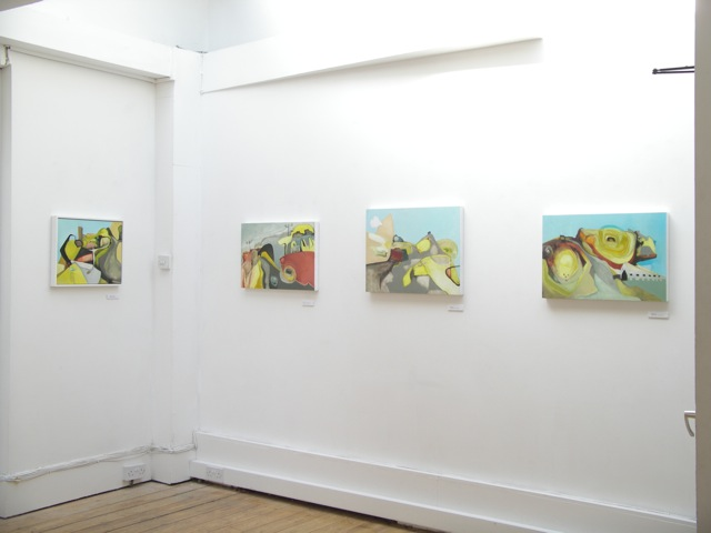 Exhibition Laura Hudson Passing Through June 2014 - 8