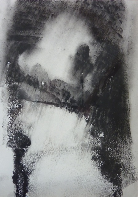 Dartmoor Lane II [23x31cm] Monotype without press, 2012