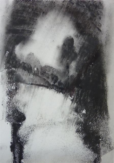 Dartmoor Lane II [23x31cm] Monotype without press, 2012