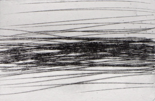 Chinkle-Chankle Drypoint, UP 2015