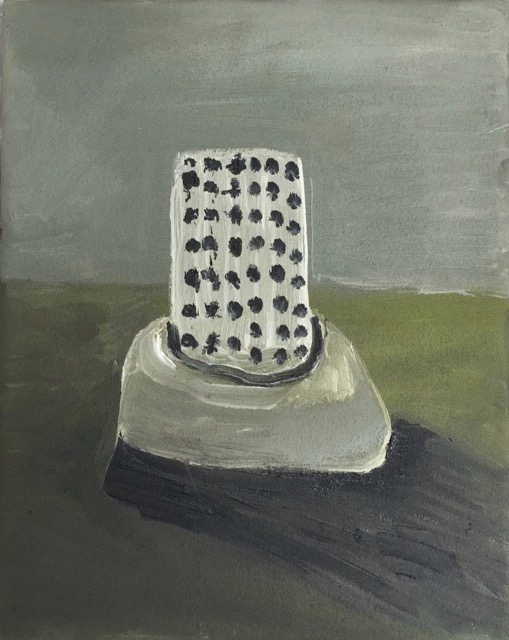 Nail House One, oil on canvas [25x20 cm] 2017