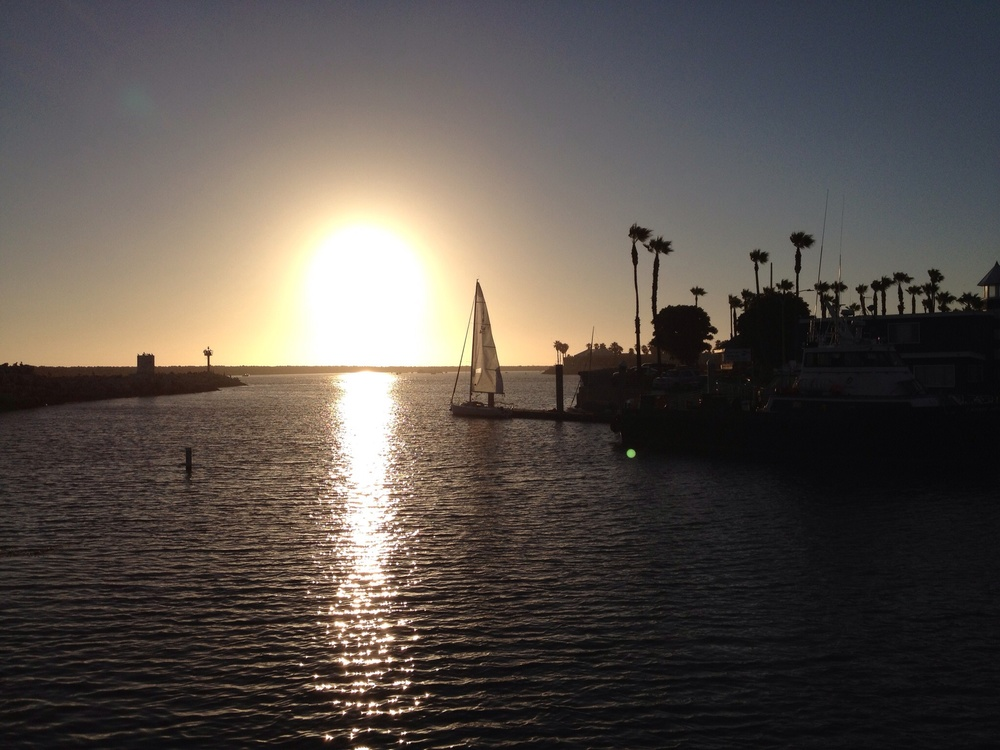 Sunset at Redondo Beach