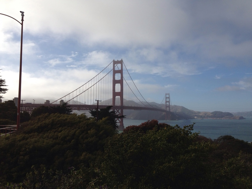 Sorry, only one picture of the Golden Gate Bridge allowed, or this technically becomes an Apple advert
