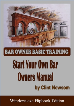 Click on the cover above to order the     start your Own Bar windows exe flip book version