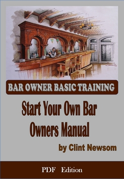 Click on the cover above to order the              start your own bar Pdf version
