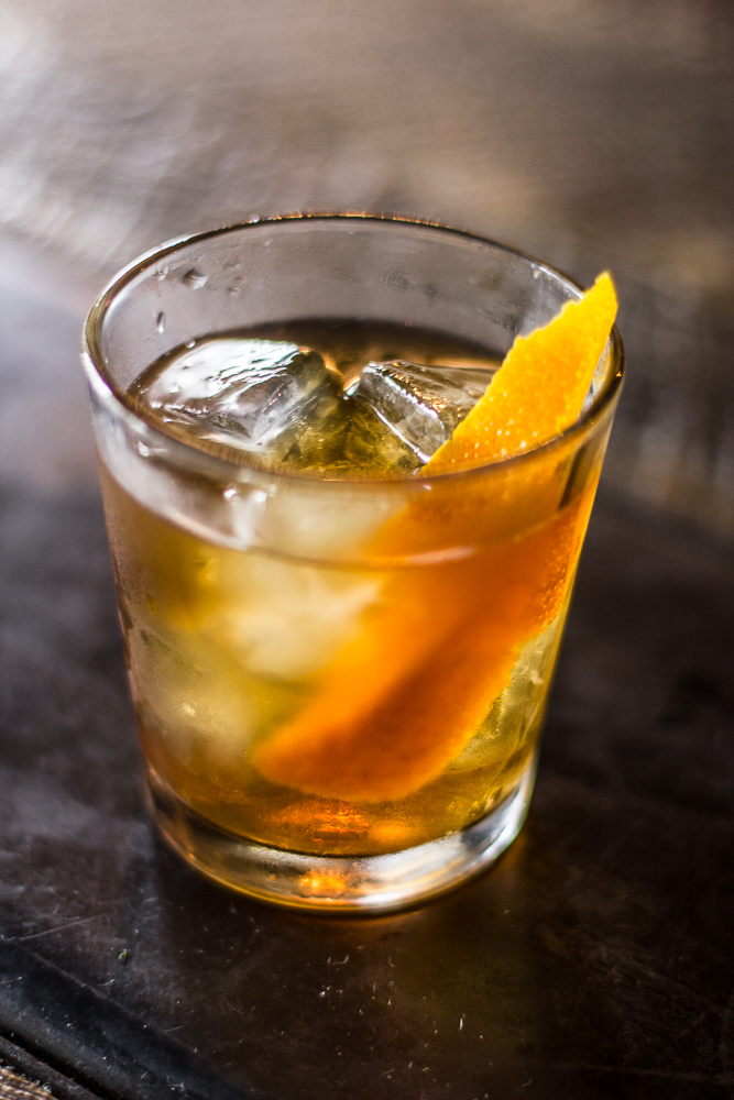 Rye Derby Cocktail Old Fashioned Variation