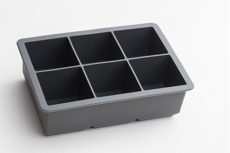 Tovolo King Cube Ice Cube Tray Charcoal Grey Standard Spoon Store.jpg