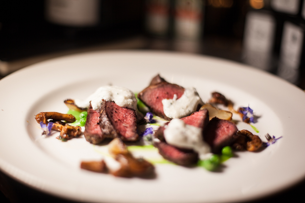 Bison Strip Loin. Photo by Shawn Michael.