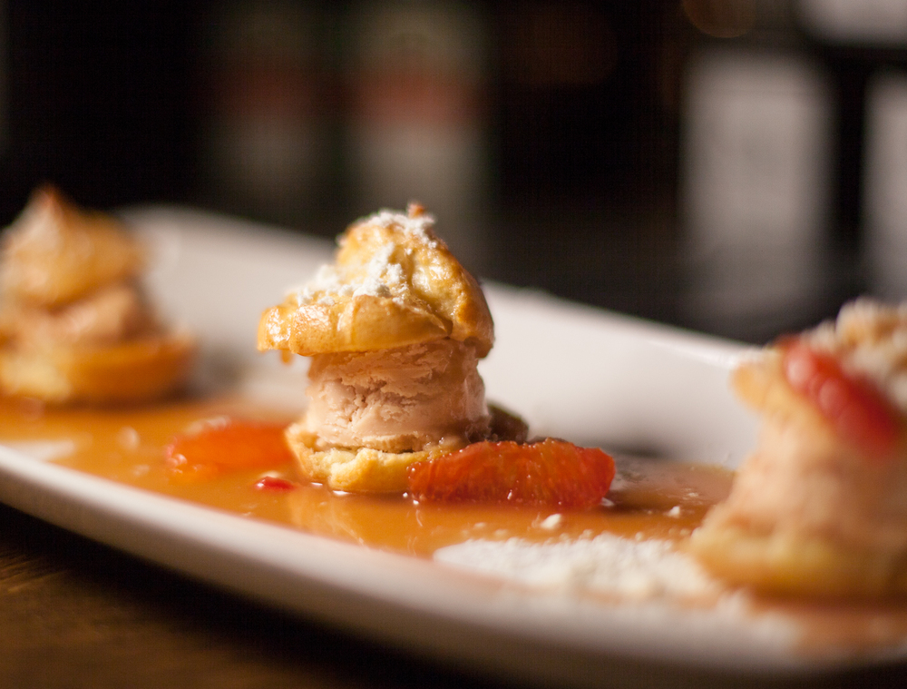 Foie Profiteroles by Prepkitchen's Executive Chef Joanna Rockwell. Photo by Shawn Michael.