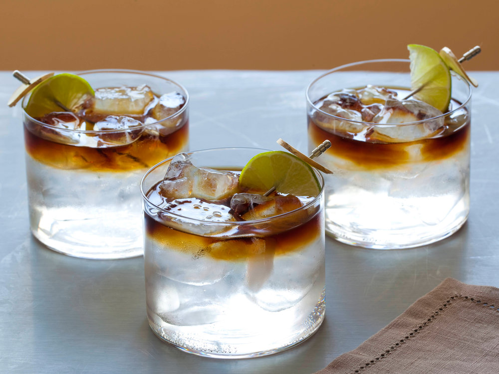 Dark & Stormy Cocktail - Photo: Food Network