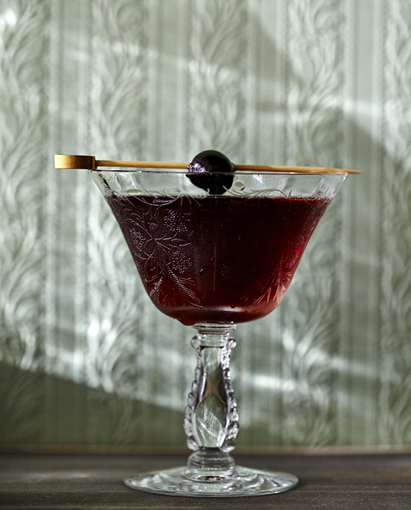 Black Manhattan Cocktail - Photo: Imbibe