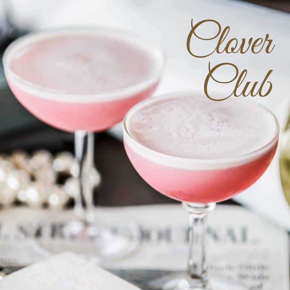 Clover Club Cocktail   Gin • Lemon • Raspberries • Egg White