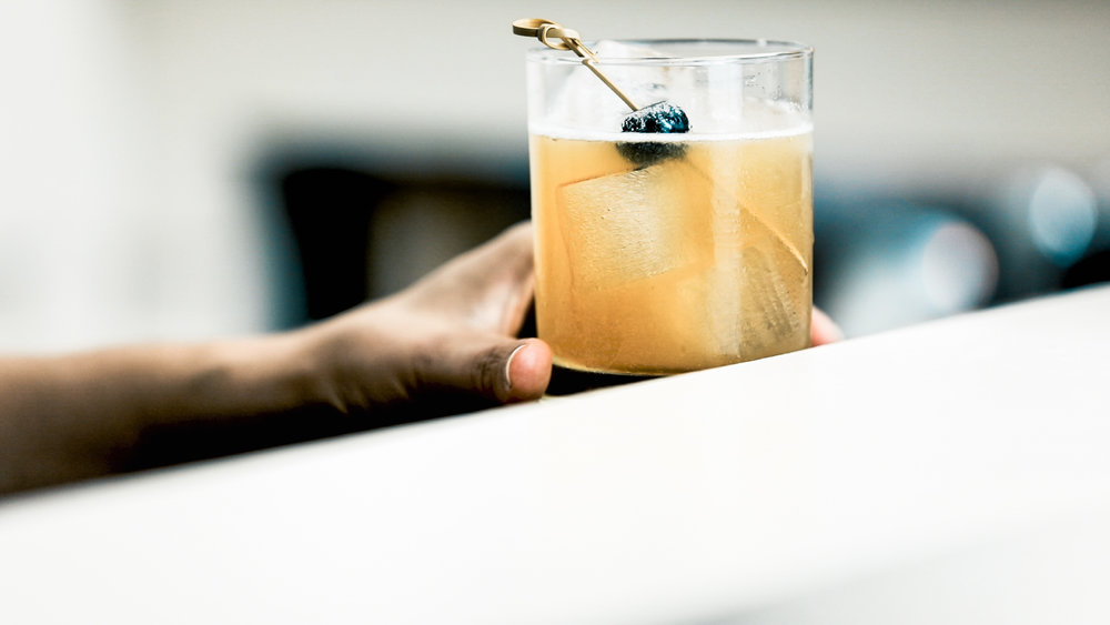 Whiskey Sour Cocktail by Standard Spoon
