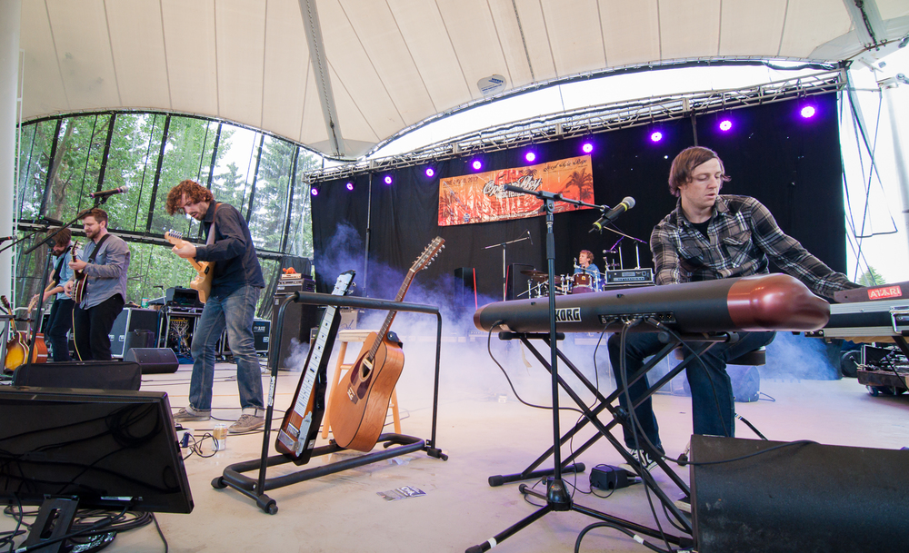 Open Sky Music Festival - Hawrelak Park, Edmonton Alberta, 2012