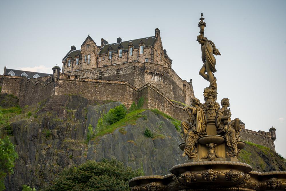Edinburgh Castle - Scotland, 2014