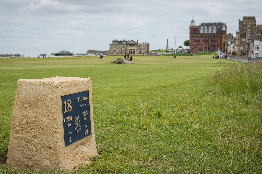 The Old Course at St. Andrews - Scotland, 2014