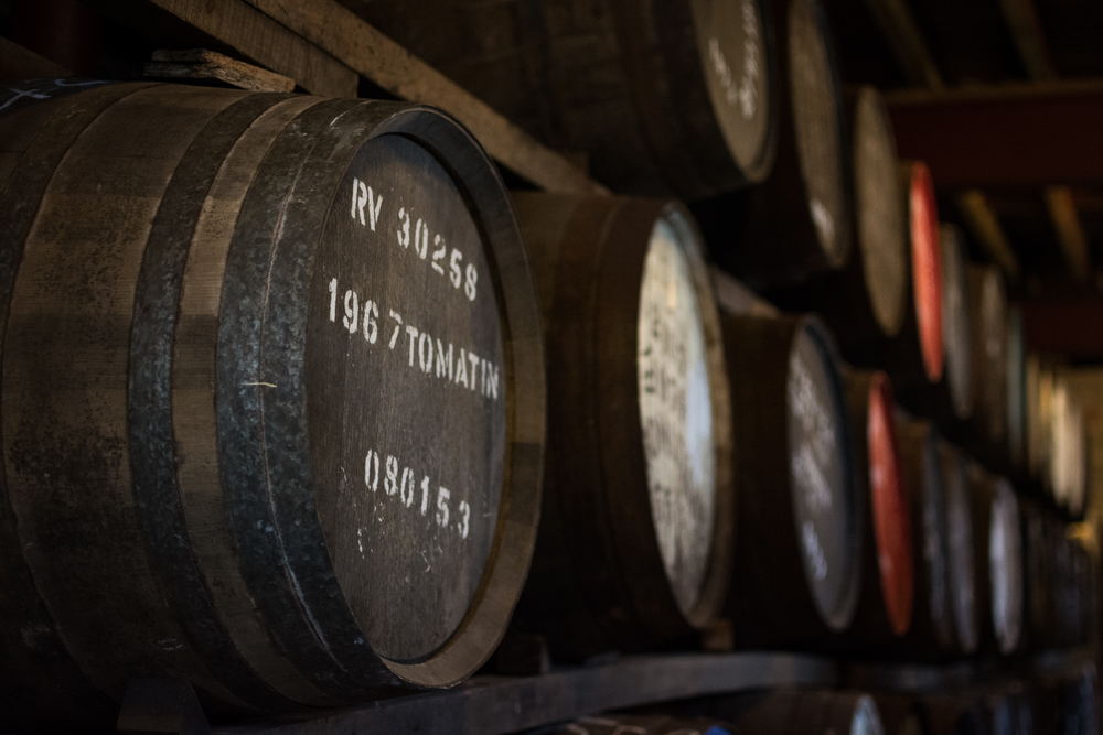 Tomatin Distillery, Inverness - Scotland, 2014