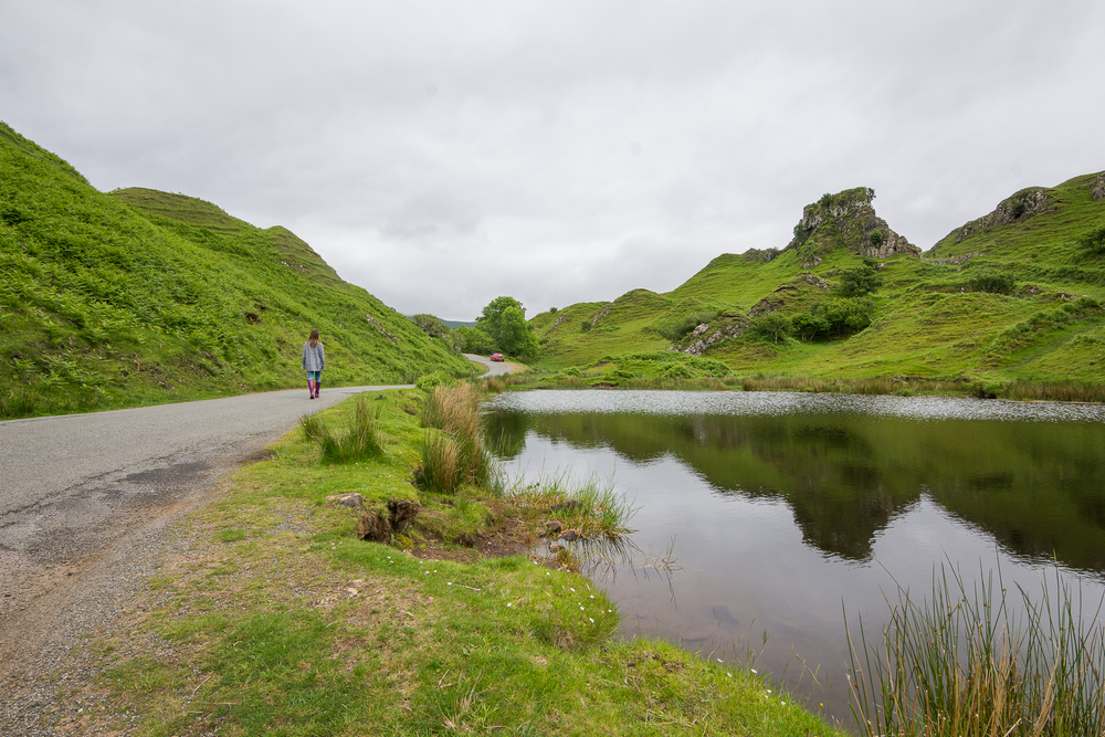Fairy Glen, Isle of Skye - Scotland, 2014