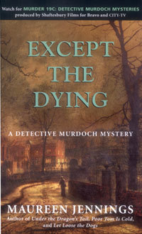 except-the-dying-by-maureen-jennings