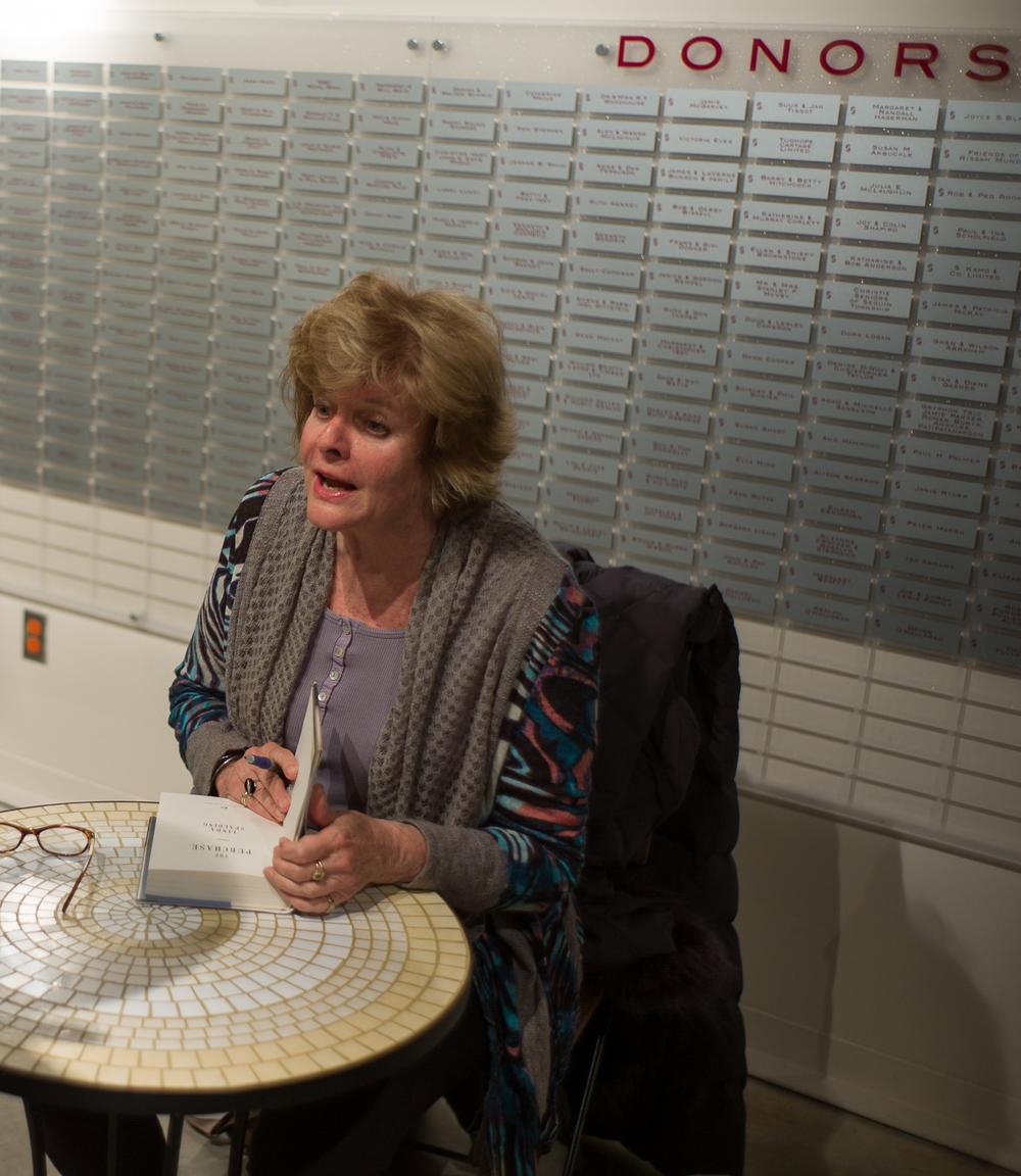 Linda Spalding signing.jpeg