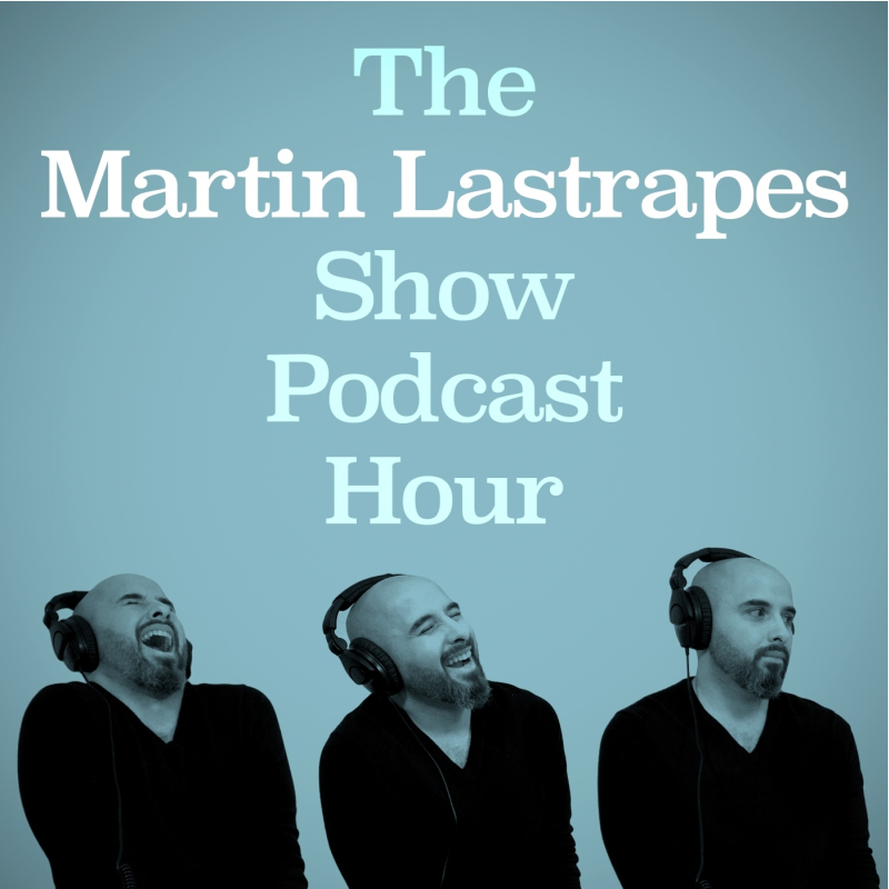 The Show - The Martin Lastrapes Show Podcast Hour is the show that may or may not be an hour long, based on your perception of time and how much Martin has to say. It's both a silly and earnest look into the mind of award-winning novelist Martin Lastrapes. Martin loves engaging in in-depth conversations about writing, storytelling, publishing, and most anything else he finds interesting—from movies and television to professional wrestling and comic books.