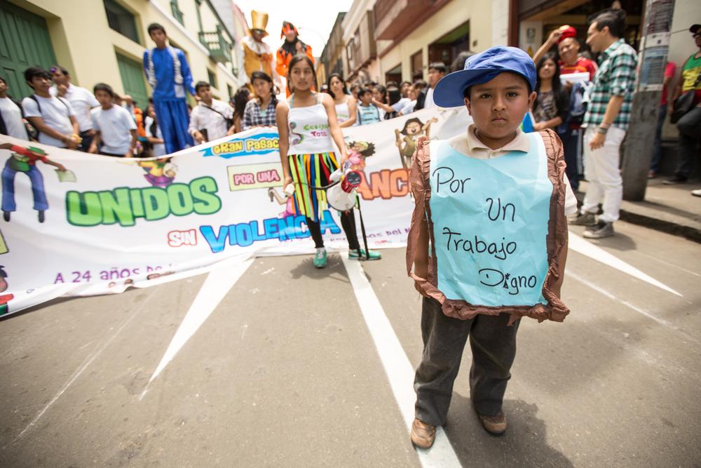 Manifestation nationale contre la violence faites aux enfants