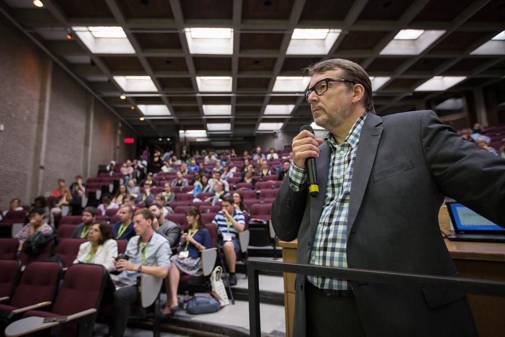 Michel Venne, directeur et fondateur de l'INM.