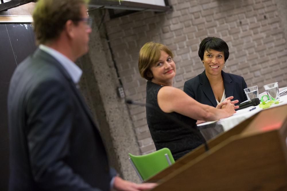 Julie Miville-Dechêne, ex-journaliste et présidente du Conseil du statut de la femme.