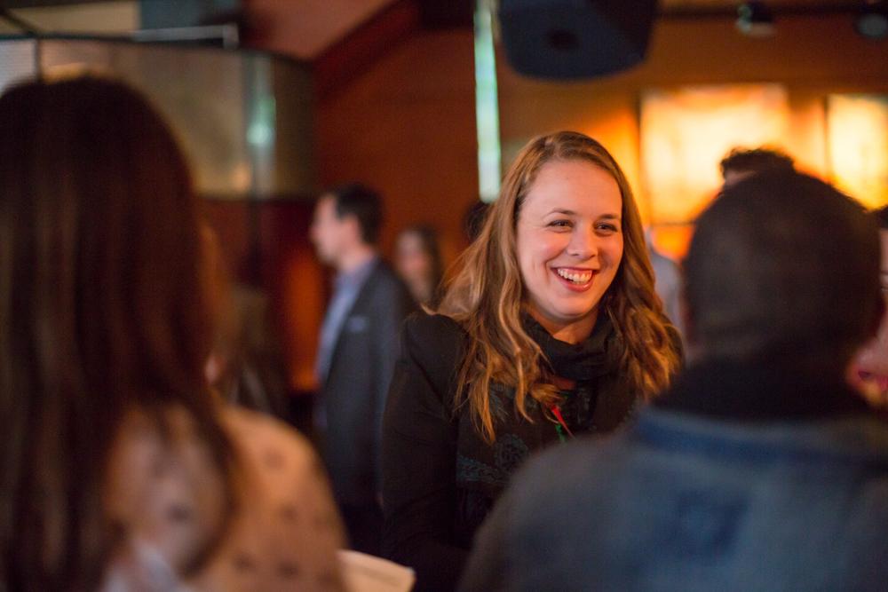 Martine Desjardins, candidate pour le PQ lors des élections provinciales de 2014.
