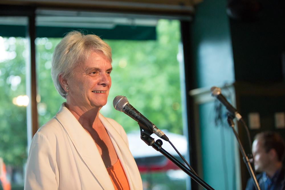 Hélène Laverdière, député néodémocrate dans Laurie-Sainte-Marie, et porte-parole en matière de développement international.