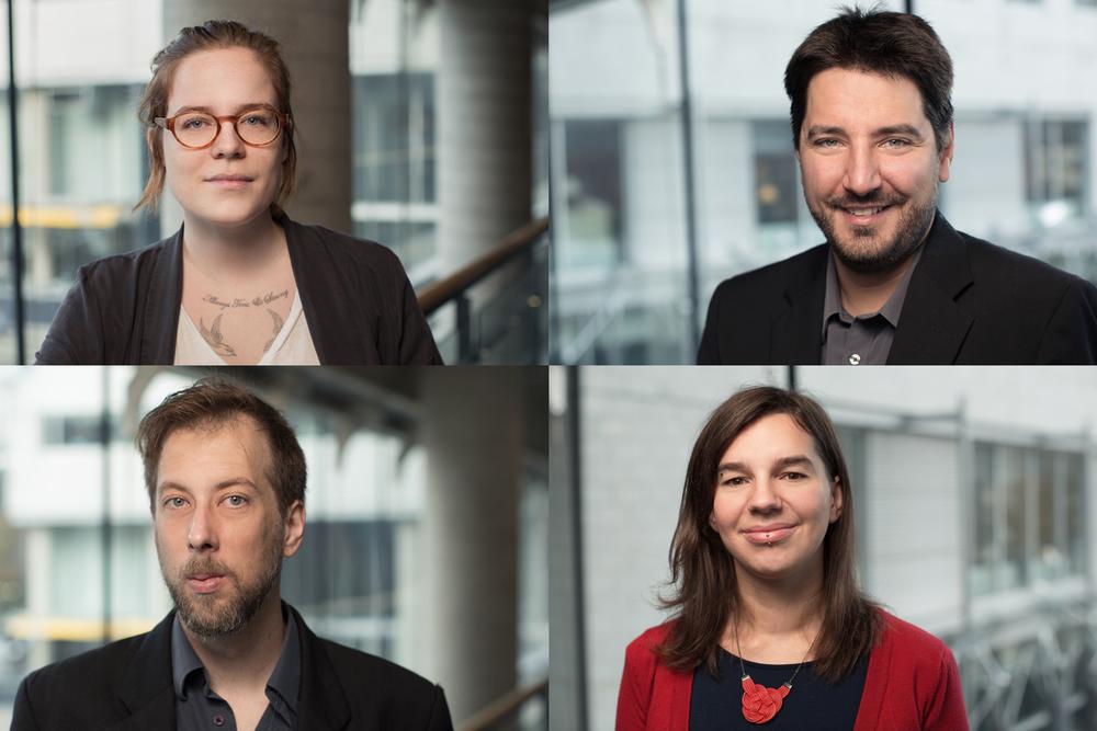 J'ai fait des portraits de chercheurs et chercheuses de l'IRIS.