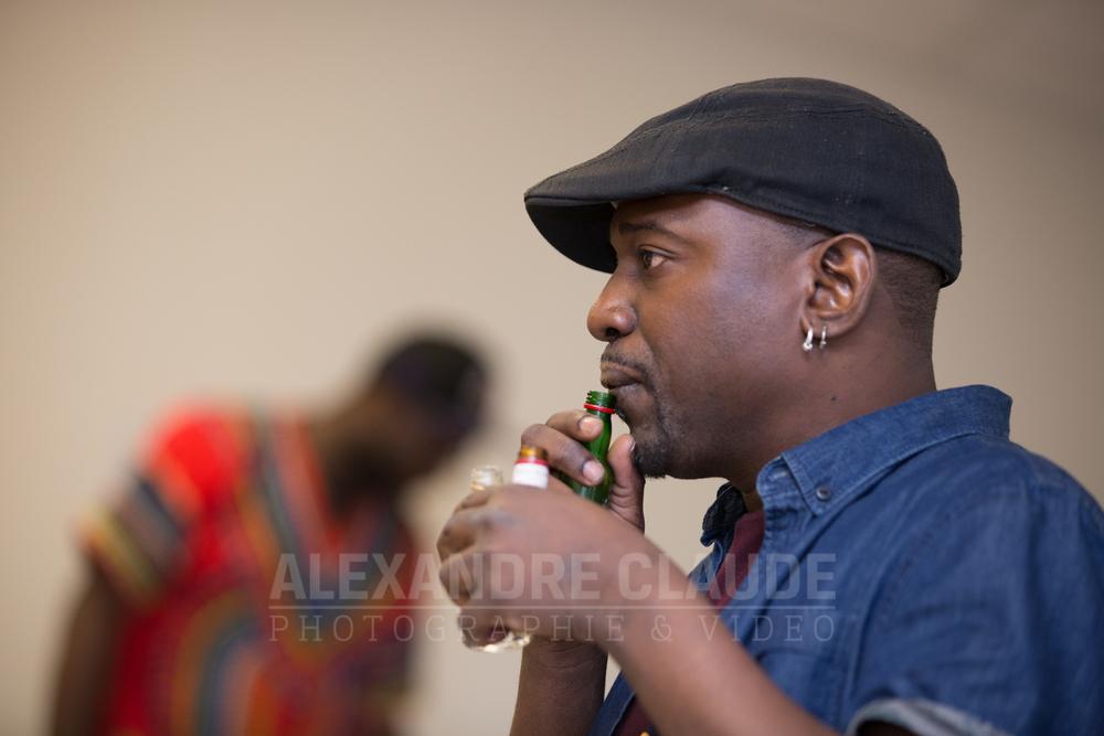 Fredy Massamba, du Collectif Hyfricans.