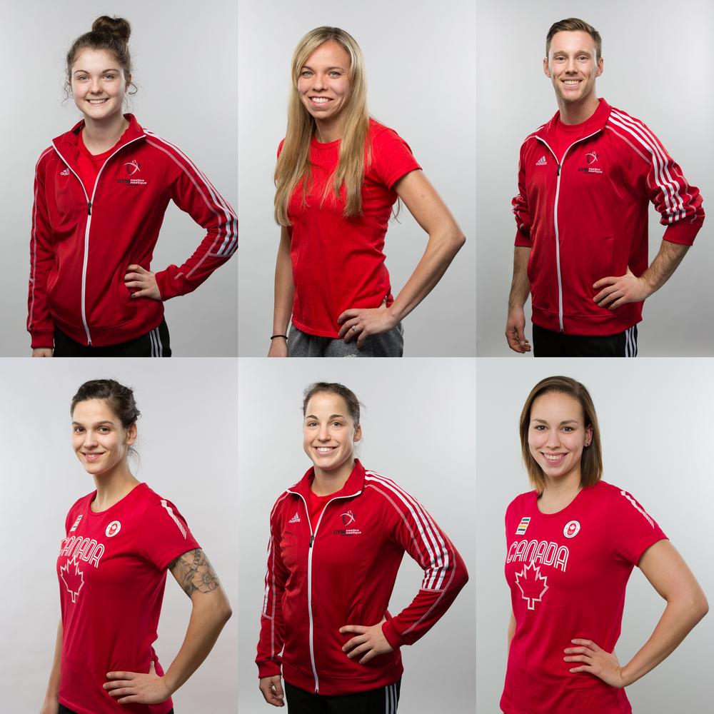 Portraits de plusieurs athlètes canadiens fait pour le Comité Olympique Canadienne en vu des jeux Panaméricains qui ont eu lieu à Toronto en 2015.  --   Portraits of many athletes taken for the Canadian Olympic Committee, just before the Panamerican games, in Toronto in 2015.