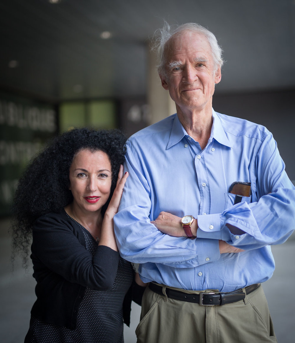 Rachida Azdouz et Charles Taylor