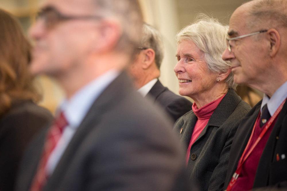 Audience lors d'une conférence de Michael Burgess