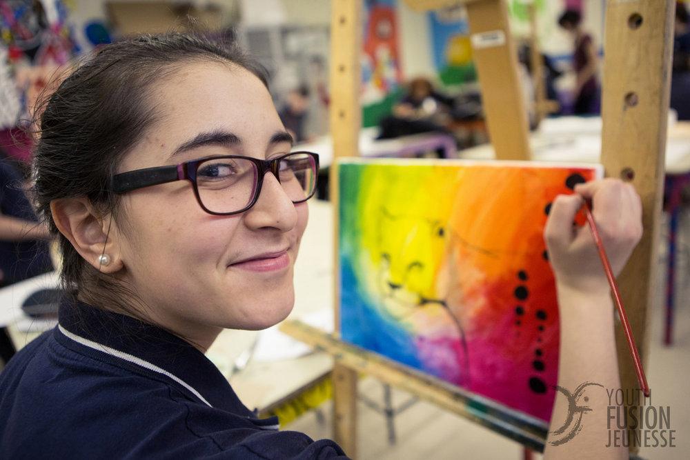 Concours d'arts organisé par Fusion Jeunesse - Montréal - 2013