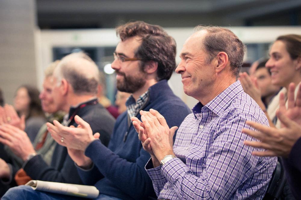 Audience lors d'une conférence