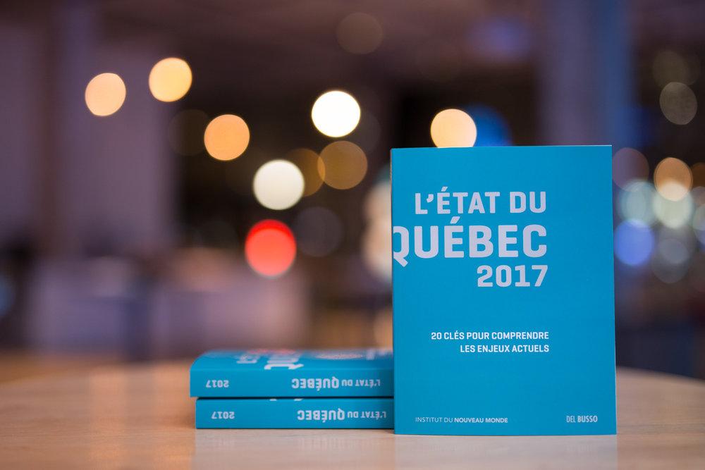 Le livre L'État du Québec 2017
